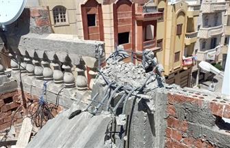 رئيس جهاز مدينة دمياط الجديدة: إزالة فورية لمخالفة بناء بالحي الرابع