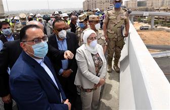 رئيس الوزراء يتفقد أعمال مشروع تطوير بحيرة عين الصيرة والمناطق المحيطة | صور