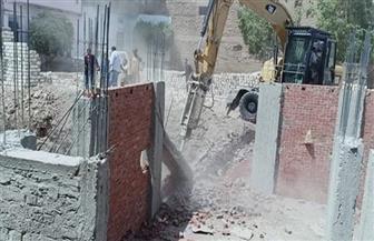 تعرف على جهود تنفيذ إزالات البناء المخالف خلال 24 ساعة