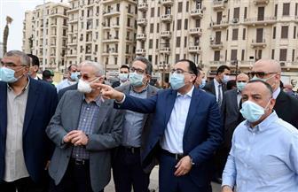 مدبولي يكلف بسرعة التعاقد مع شركتي أمن وصيانة لتسلم أعمال تطوير ميدان التحرير