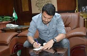 اللاعب أحمد حسن يتبرع لحساب مواجهة كورونا في المنيا