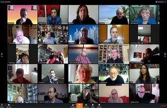 أيمن لطفي يتحدث عن تأثير كورونا على الفن في اجتماع عالمي للمصورين