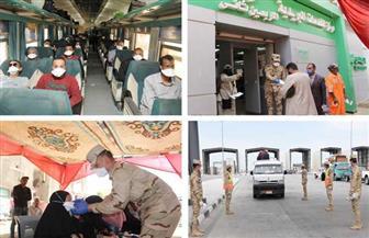 القوات المسلحة تواصل توزيع الماسكات الطبية على المواطنين مجانا | فيديو