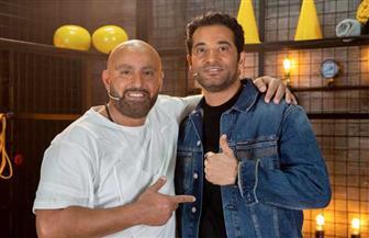 الليلة.. عمرو سعد ضيف برنامج «إغلب السقا» على «MBC مصر» | صور
