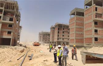 رئيس جهاز مدينة ناصر الجديدة يتفقد سير العمل بمشروع سكن مصر