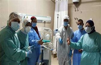 ثالث حالة ولادة قيصرية لمريضة كورونا داخل مستشفى العزل في الأقصر |صور