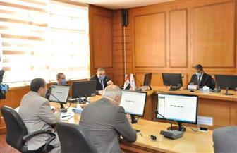 محافظ كفر الشيخ يشهد مجلس الجامعة لمناقشة الاستعداد للامتحانات | صور