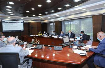 وزير النقل يبحث مع مسئولي البنك الدولي عبر الفيديو كونفرانس موقف المشروعات المشتركة| صور