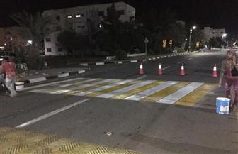 مجالس المدن بالوادى الجديد تحول ساعات الحظر إلى تجميل وإعادة إصلاح الشوارع| صور