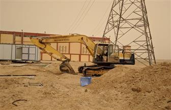 جهاز السادات: جار تنفيذ شبكة الكهرباء المغذية لقطع أراضى الإسكان الاجتماعي والمتميز بعدة مناطق بالمدينة |صور