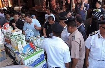 ضبط 1089 قضية تموينية بينها 17 طن مواد غذائية و7282 قطعة مستلزمات طبية مجهولة