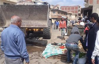 """حملات بالإسكندرية لفض الأسواق المخالفة لمواجهة """"كورونا"""""""