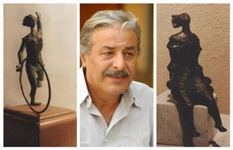 وفاة التشكيلي والنحات أحمد عبدالعظيم جاد عن عمر ناهز 74 عاما | صور