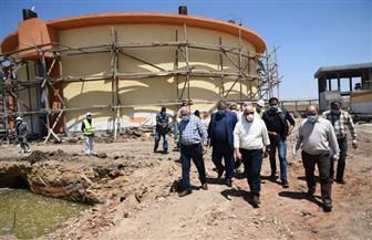 عادل الغضبان: محطة مياه شرب الكاب تمثل تحولا تاريخيا للخدمات بجنوب بورسعيد | صور