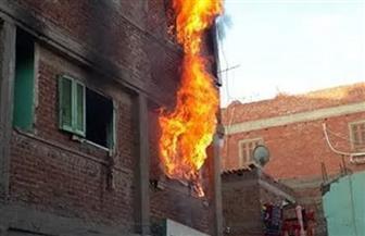 """حريق بمنزل في """"الدلجمون"""" بالغربية بسبب انفجار أسطوانة بوتاجاز"""