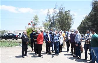 محافظ بورسعيد: الطرق الحديثة في الزراعة تحقق الأمن الإستراتيجي للسلع | صور