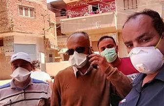 «صحة الغربية» تفحص المخالطين للحالة المصابة بـ«كورونا» فى قرية «طوخ مزيد» بالسنطة   صور