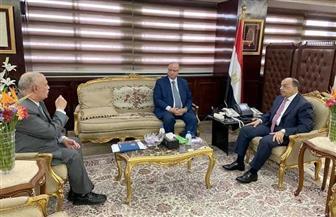 """وزير التنمية المحلية يبحث مع محافظ القاهرة ورئيس النقل العام إجراءات الوقاية من """"كورونا"""""""