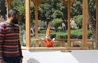 الأراجوز يعظ الأطفال على قناة القومي لثقافة الطفل