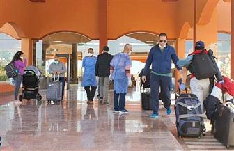 ٢٩٣ مصريا قادمين من أمريكا يخضعون للحجر الصحي بمدينة مرسى علم | صور