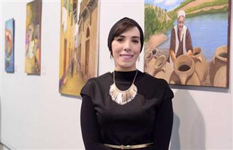 """شيرين بدر تطلق معرض """"الفن ينشر الأمل"""" بمشاركة 50 فنانا عالميا أون لاين.. اليوم"""