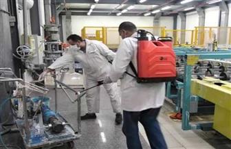 وفد من القوى العاملة بالشرقية يتابع إجراءات مواجهة كورونا في عدد من مصانع العاشر من رمضان|صور