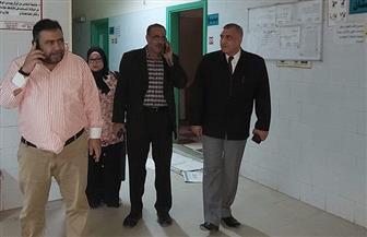 نقل وحدة الغسيل الكلوي بمستشفى كفر الزيات إلى المركز الطبي|صور