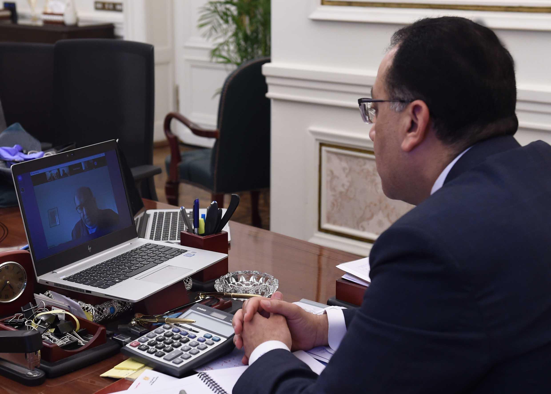 مدبولي يؤكد حرص مصر على العمل بشكل متسارع في المجالات التي تم الاتفاق عليها مع البنك الأوروبي