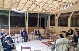 السفير أسامة عبد الخالق يستضيف اجتماعا لسفراء ووفود دول إقليم الشمال الإفريقي