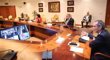 وزيرا التعليم العالي والاتصالات يتابعان تنفيذ التحول الرقمي للجامعات