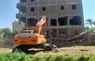إزالة 31 حالة تعد على الأراضي الزراعية بمركز بني مزار