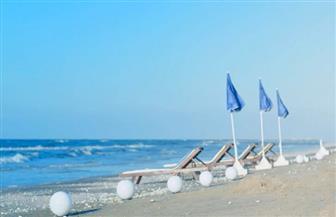 إغلاق شاطئ مدينة دمياط الجديدة لمنع تجمعات المصطافين