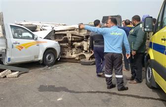 مصرع مزارع وإصابة اثنين آخرين في حادثي تصادم بسوهاج
