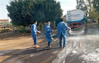 تطهير وتعقيم خط سير سيارات الإسعاف لمستشفى العزل بالدقهلية | صور