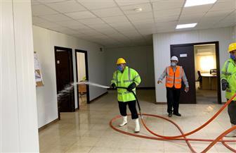 وزير الإسكان: عمليات تطهير وتعقيم لمواقع المشروعات بالعاصمة الإدارية لمواجهة كورونا