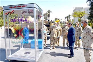 الرئيس السيسي يتفقد بعض نماذج التجهيزات والمعدات المطورة من قبل القوات المسلحة| صور