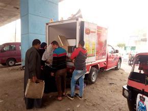 مبادرة «رد الجميل».. 7 منافذ متنقلة لبيع السلع الغذائية بأسعار مخفضة ببركة السبع | صور