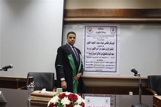 """أبو بكر الدسوقي يحصل على الدكتوراه بتقدير امتياز حول """"التنافس الإيراني ـ السعودي بالشرق الأوسط"""""""
