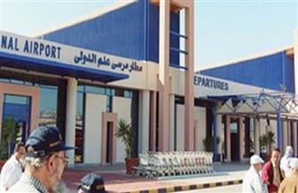 مطار مرسى علم يستقبل 298 مواطنا من المصريين العالقين في جدة