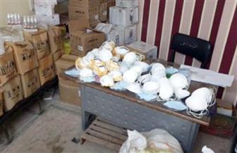 ضبط 400 كمامة وسلع غير صالحة للاستهلاك الآدمي في حملة بسوهاج