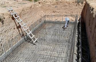"""محافظ مطروح: تنفيذ 19 خزانا أرضيا في 5 قرى ضمن مبادرة """"حياة كريمة""""   صور"""