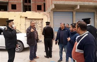 مرسى مطروح: وقف أعمال 5 مبان مخالفة واتخاذ الإجراءات القانونية لتحويلها إلى النيابة العسكرية   صور