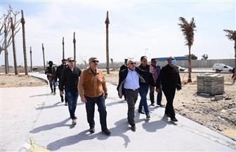 الغضبان يشدد بالالتزام بالجداول الزمنية لتنفيذ ميناء بورسعيد البري الجديد   صور