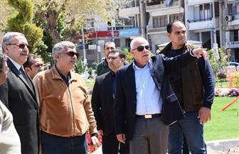 محافظ بورسعيد يتابع إنشاء مسرح ومسجد على الطراز الأندلسي بحديقة فريال   صور