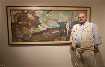 التشكيلي حسين الشابوري: مصر تسير على الطريق الصحيح في العرض المتحفي | صور