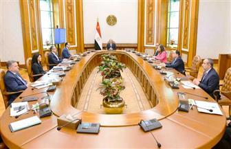 الرئيس السيسي يستعرض تداعيات أزمة كورونا والإجراءات الحكومية للتخفيف من آثارها على المواطنين| صور