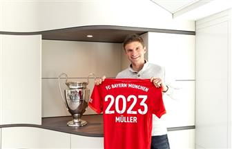 بايرن ميونخ يعلن تمديد تعاقده مع توماس مولر حتى عام 2023