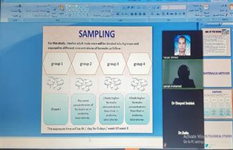 تسجيل الماجستير والدكتوراه لطالبتين باستخدام تقنية الاجتماعات الافتراضية بقنا.. للمرة الأولى | صور