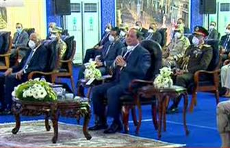 """الرئيس السيسي: قادرون على عبور أزمة """"كورونا"""" بوحدتنا جميعا"""