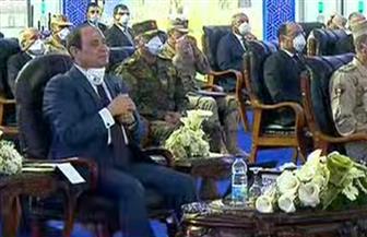 الرئيس السيسي: لست مع الحظر الكامل ويجب تخفيض أعداد العاملين دون المساس بالمرتبات